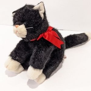 "Vintage Ty 1997 Boots cat plush 9"""